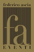 Fa Eventi di Federico Ascia, Vicenza. Organizzazione di matrimoni, eventi pubblici, aziendali e privati. Logo ridotto
