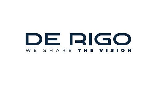 De Rigo Vision, logo azienda. Clienti Fa Eventi, Rossano Veneto.